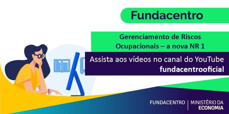 """Fundacentro disponibiliza gravação de curso de GRO – """"nova NR 01"""""""